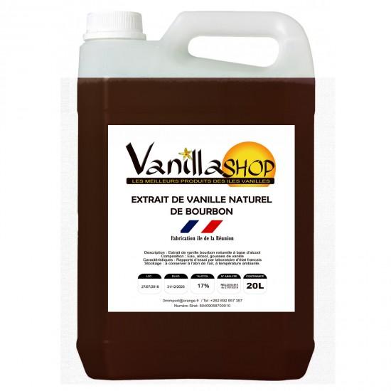 Extrait de Vanille 20L